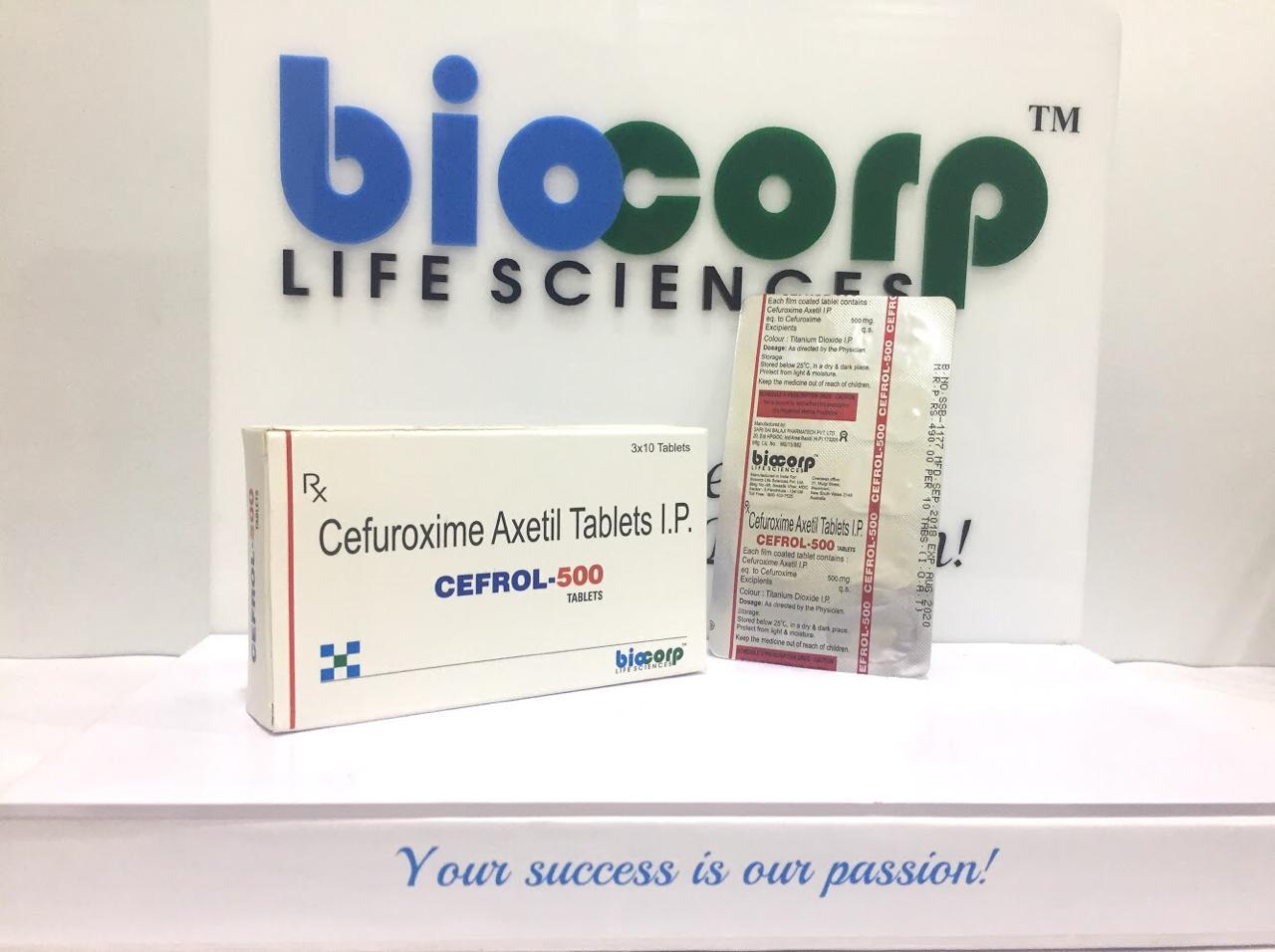 Cefrol-500 Tablets