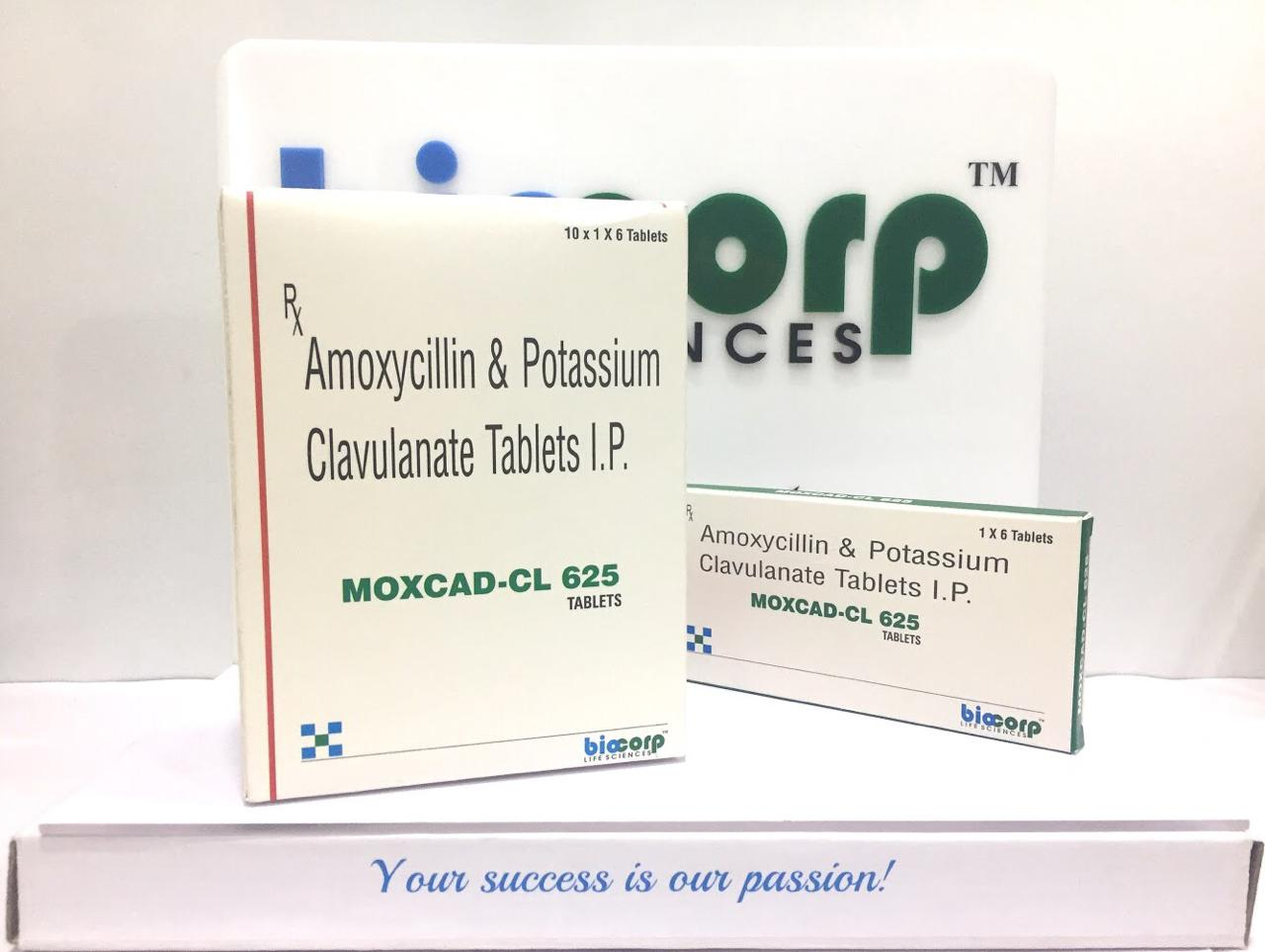 Moxcad-CL 675 Tablets