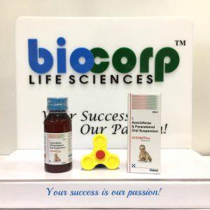 Aceclofenac 100 mg. + Paracetamol 325 mg.