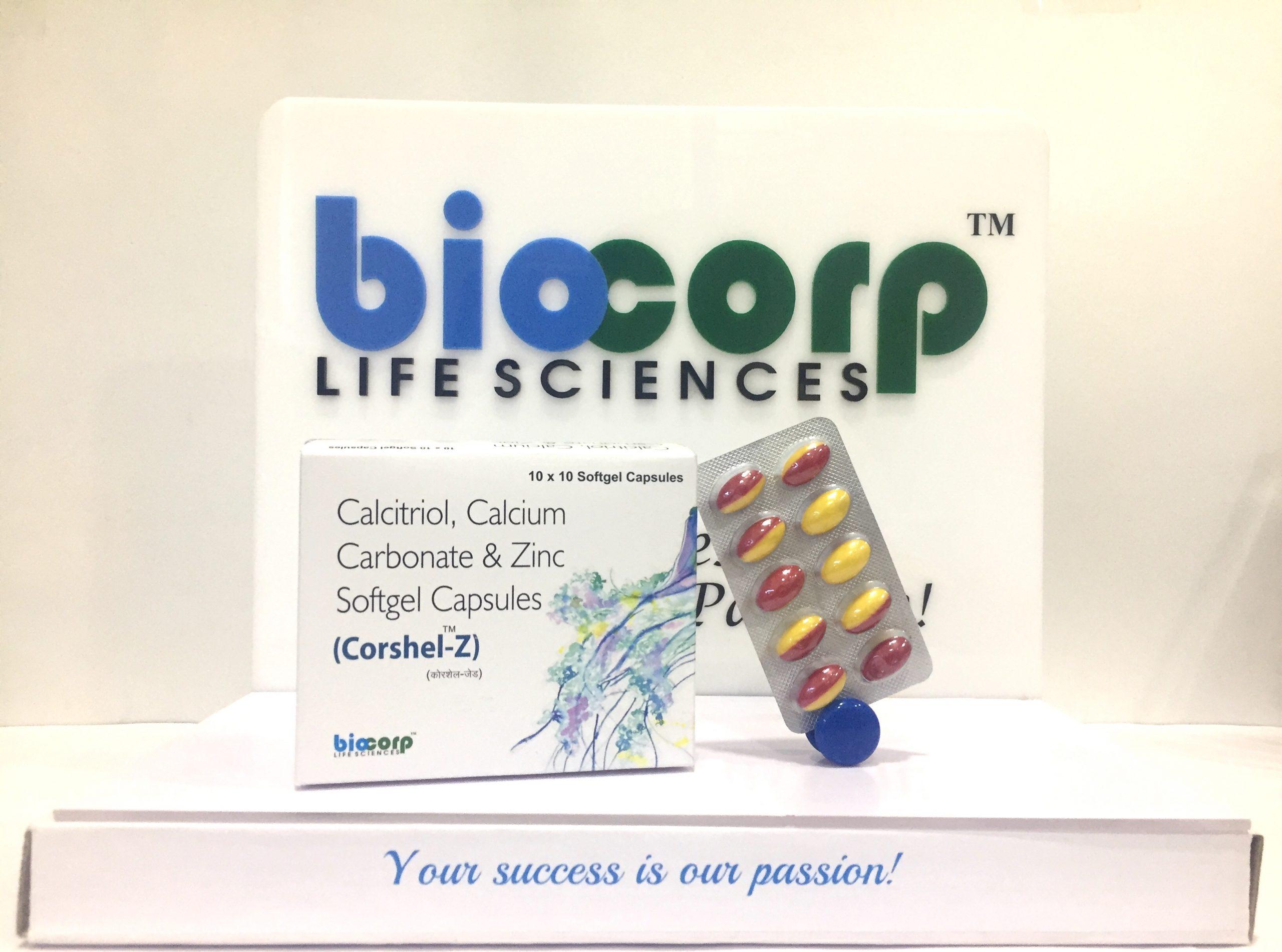 Calcium + Calcitrol + Zinc
