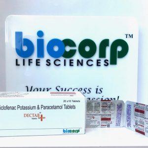 Diclofenac 50 mg + Paracetamol 325 mg