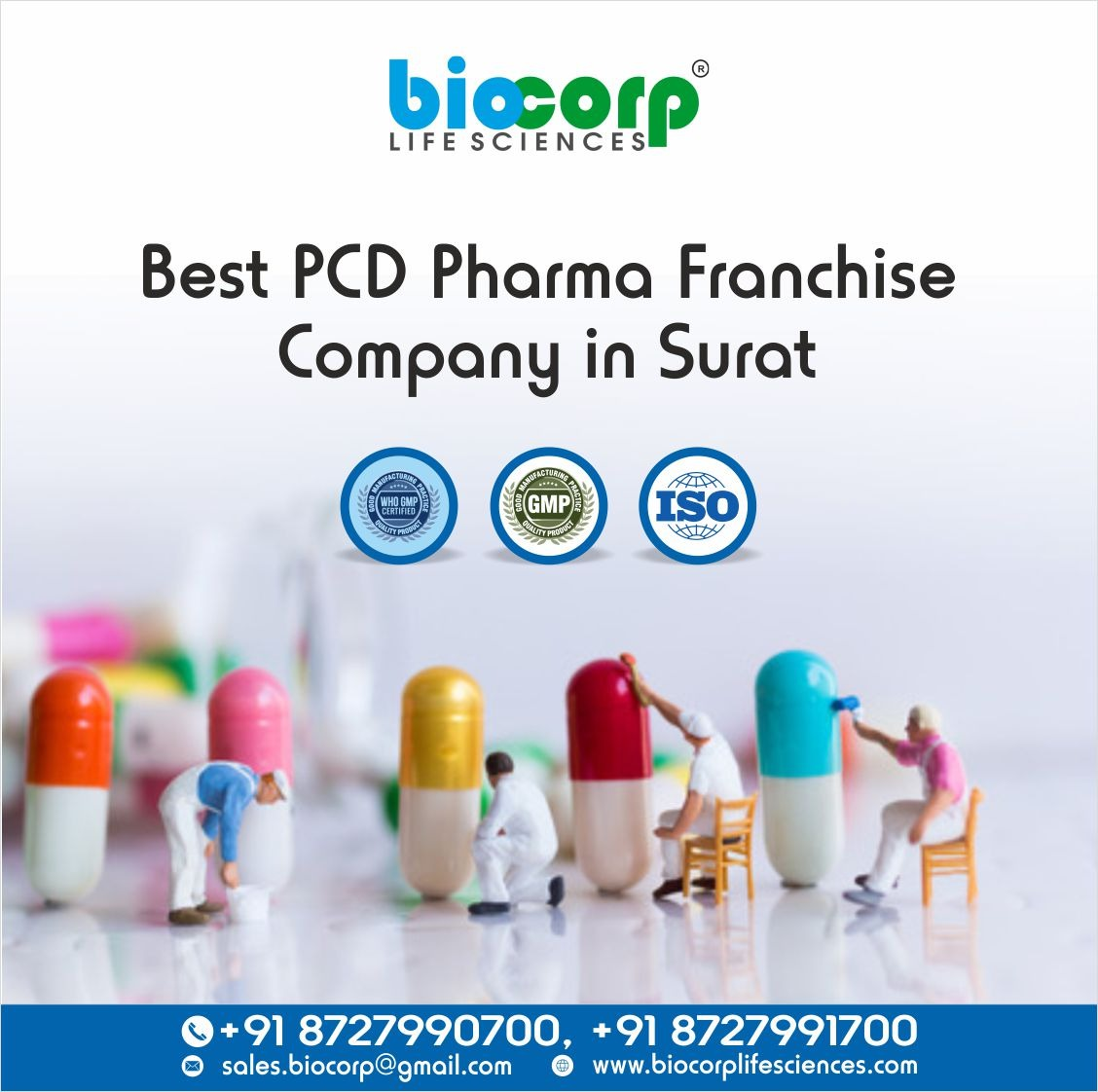 Best PCD Pharma Franchise Company in Surat