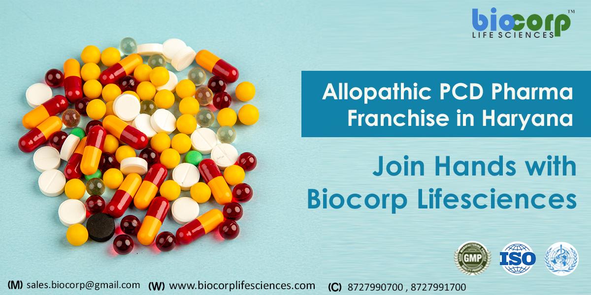 Allopathic PCD Pharma Franchise in Haryana